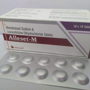 Montelukast Sodium & Levocetirizine Dihydrochloride Tablets