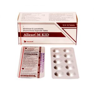 montelukast & levocetirizine dihydrochloride dispersible tablets