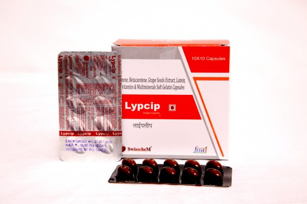 Lycopene with vitamin A & other minerals