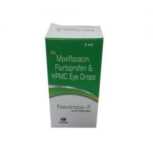 moxifloxacin, flurbiprofen & HPMC eye drops