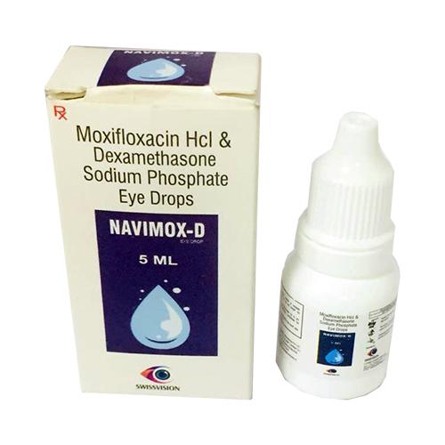 moxifloxacin Hlc and dexamethasone sodium phosphate eye drops