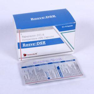 Rabeprazole (EC) & Domperidone (SR) Capsules