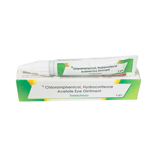chloramphenicol hydrocortisone acetate eye ointment