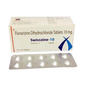 flunarizine dihydrochloride tablets